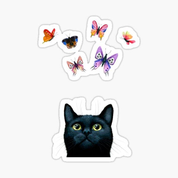 Cat 606 Sticker