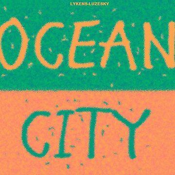 OCEAN CITY towel shirt by lykens-luzesky