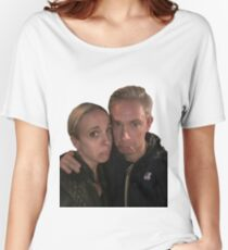 Martin Freeman and Amanda Abbington Women's Relaxed Fit T-Shirt
