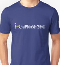 """INCOMPATIBLE and cannot """"coexisist"""" Unisex T-Shirt"""