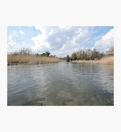 Across The Water: Thorpeness Photographic Print