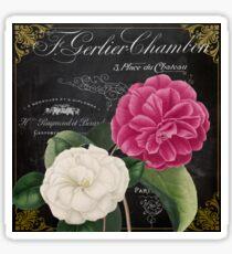 Fleur du Jour Camellia Sticker