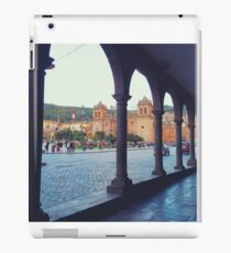 Plaza de Armas Arches iPad Case/Skin