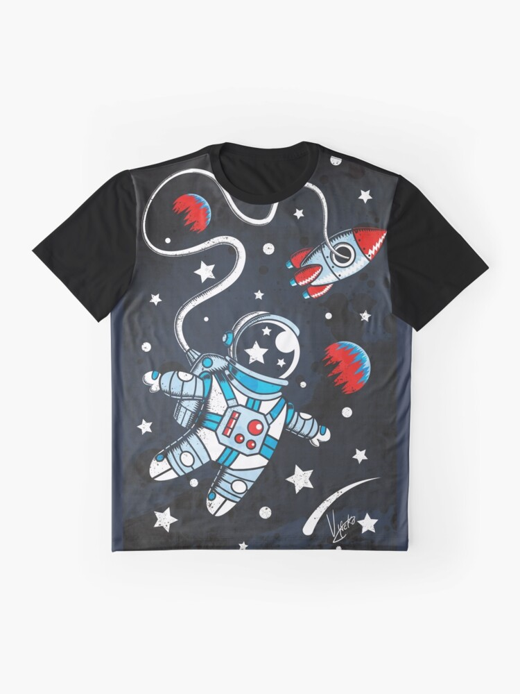 Alternate view of Space Walk Graphic T-Shirt