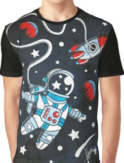 Space Walk Graphic T-Shirt