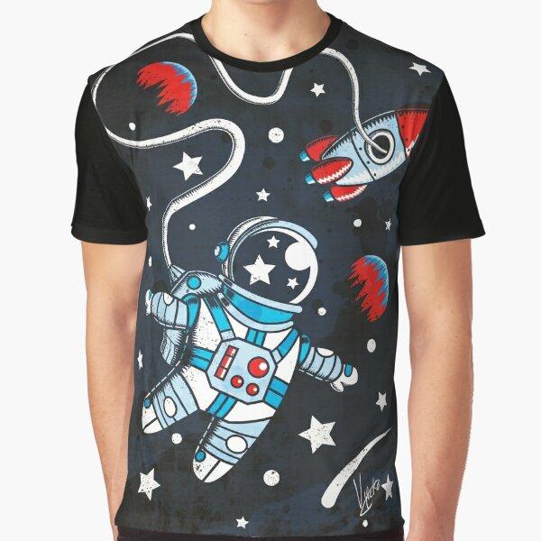 Space Walk Graphic T-Shirt