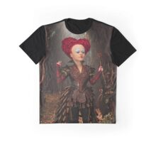 Alice Through the Looking Glass Red Queen Graphic T-Shirt