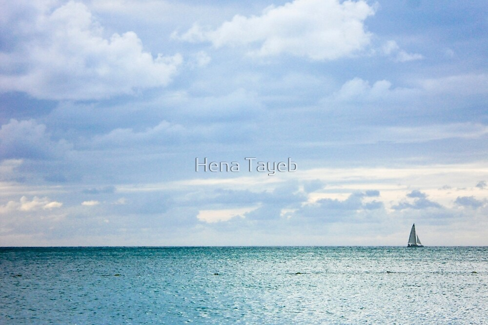 Blue by Hena Tayeb