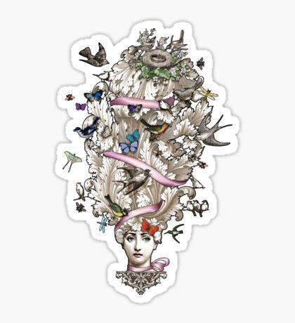 Her Wild Life Sticker