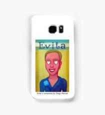 Evita y corazones by Diego Manuel Samsung Galaxy Case/Skin