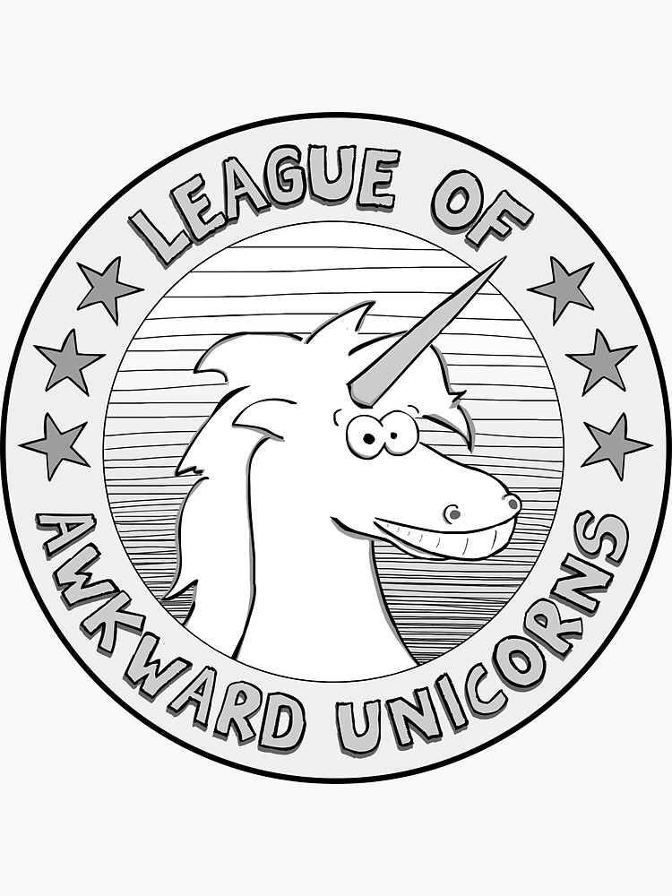 The League of Awkward Unicorns Official Gear by awkwardunicorns