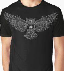 Hedwig Invitation Stylized Graphic T-Shirt