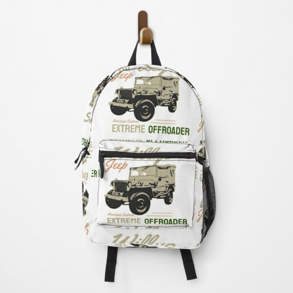 vintage willys Backpack