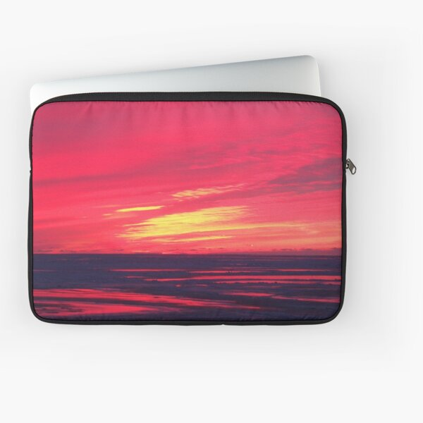 Fire and Ice on the North Coast Laptop Sleeve