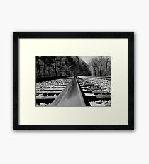 A long, long way from home Framed Print
