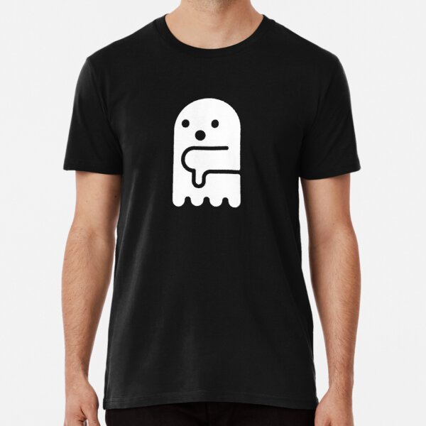 Booing Ghost of Disapproval (Brust) Premium T-Shirt