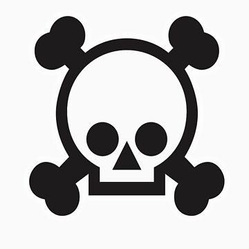Cute Skull by Tuckski