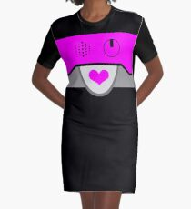 HEART TO HEART DRESS - INSPIRED BY METTATON EX FROM UNDERTALE Graphic T-Shirt Dress