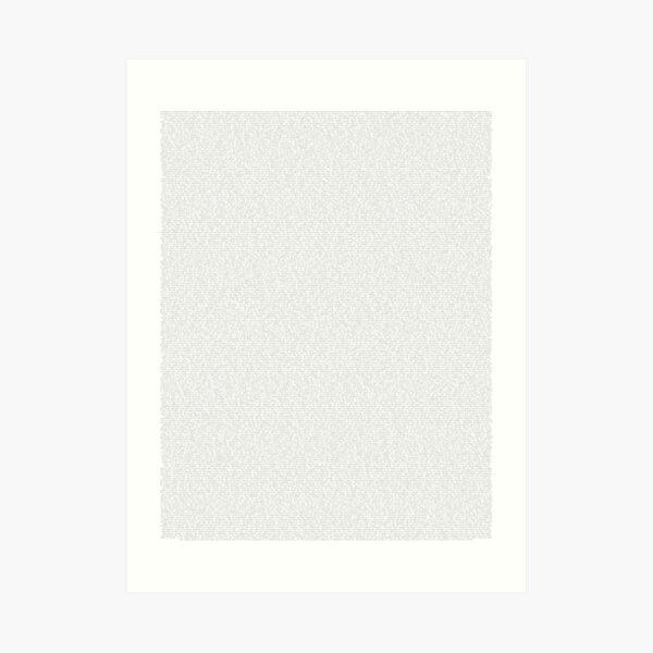 The Communist Manifesto Full Text Art Print