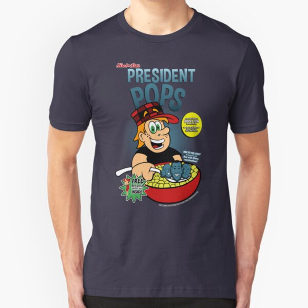 President Pops (Pete and Pete parody) Slim Fit T-Shirt