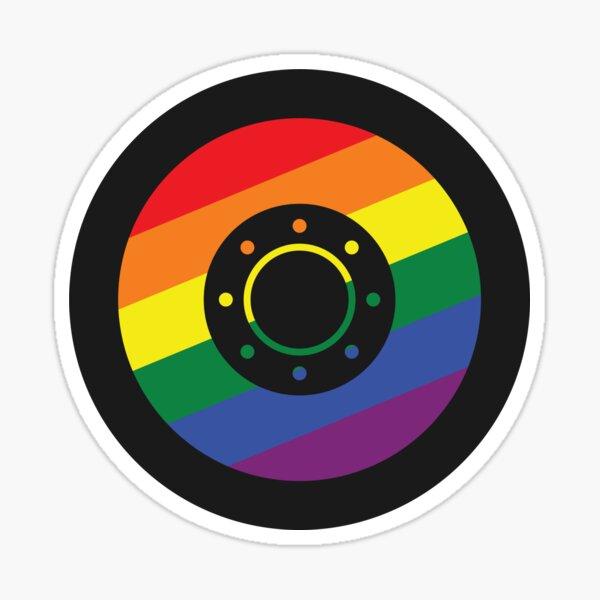 Gay Shield Sticker