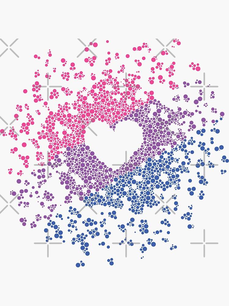 Bi Heart by aoifeenns