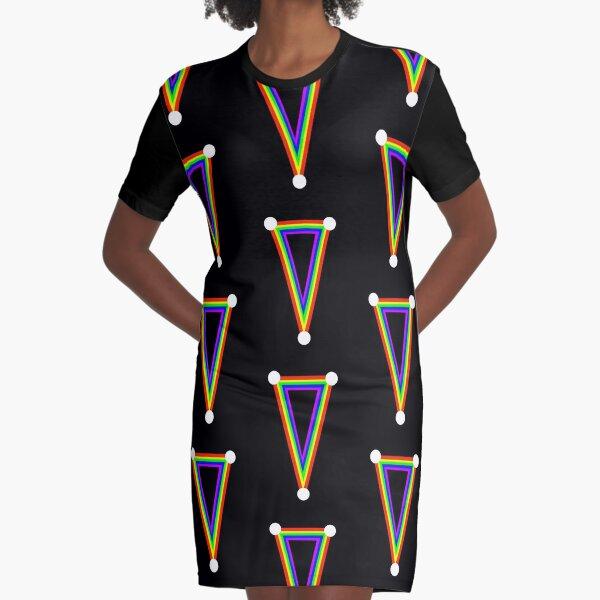 Rainbow dagger  Graphic T-Shirt Dress