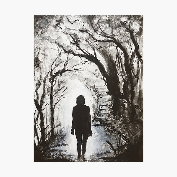 The Hero's Journey (Portrait Of My Hero) Photographic Print