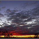 Sunset on Mt Ainslie, Canberra by Wolf Sverak