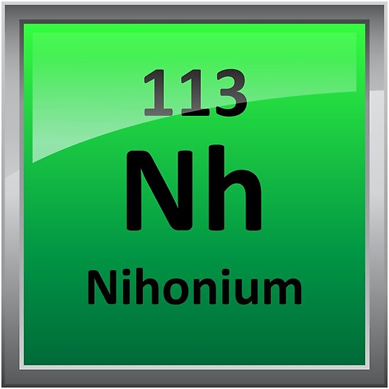 Nihonium or Element 113 Period...