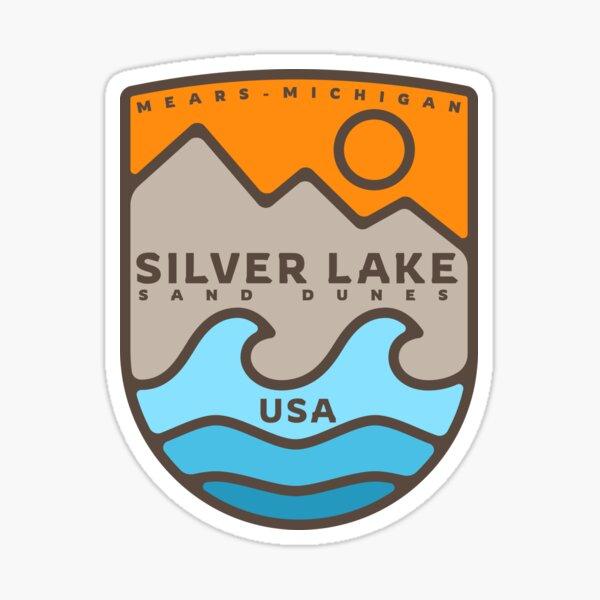 Silver Lake Sand Dunes Sticker