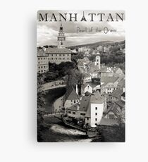 Manhattan - Pearl of the Orient Metal Print
