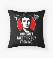 Captain Reynolds Throw Pillow