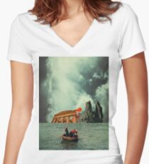 We Are All Fishermen Women's Fitted V-Neck T-Shirt