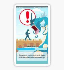 Beware your surroundings! Sticker