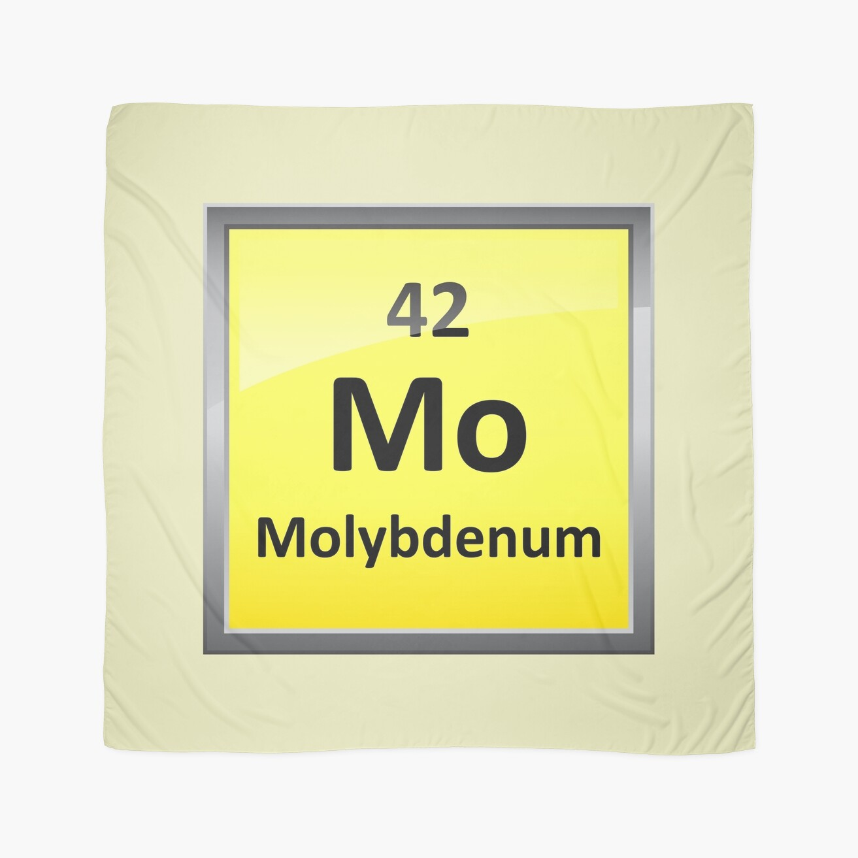 Molybdenum periodic table element symbol scarves by sciencenotes molybdenum periodic table element symbol urtaz Choice Image
