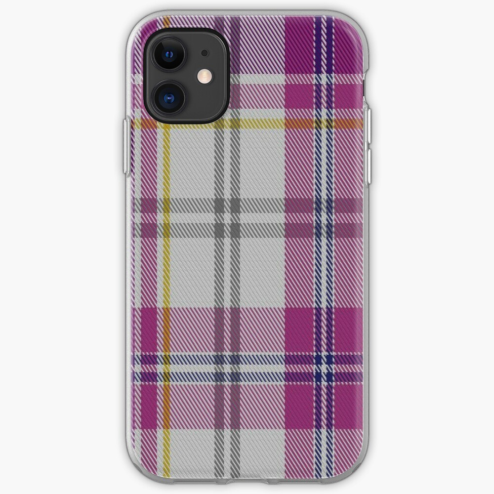 01066 Confederate Rose Commemorative Tartan iPhone Case & Cover