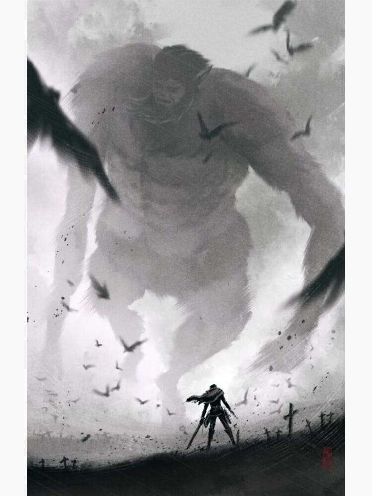 Levi vs Beast Titan Artwork - Attack on Titan by animesky