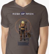 Risk of Rain commando! Men's V-Neck T-Shirt