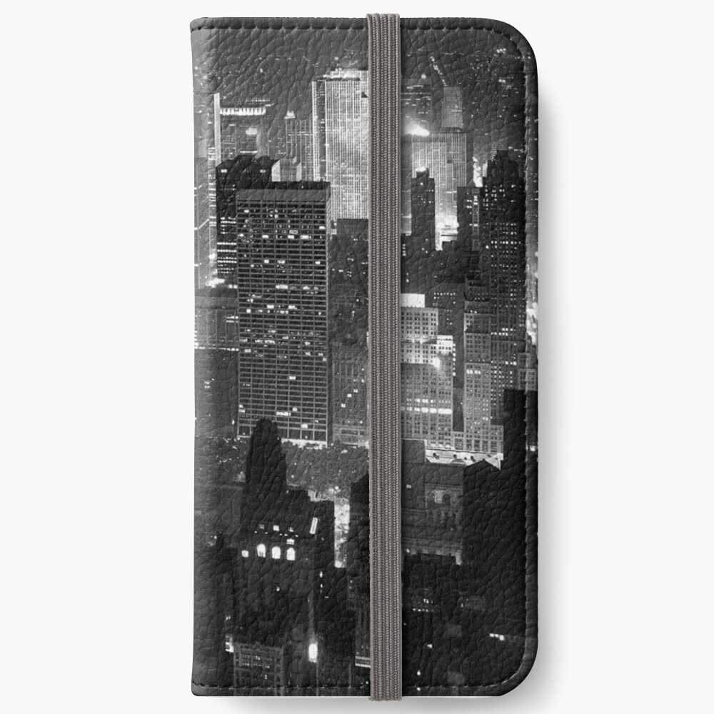 Insomne ​​en Manhattan Fundas tarjetero para iPhone