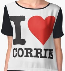 I love Corrie Chiffon Top
