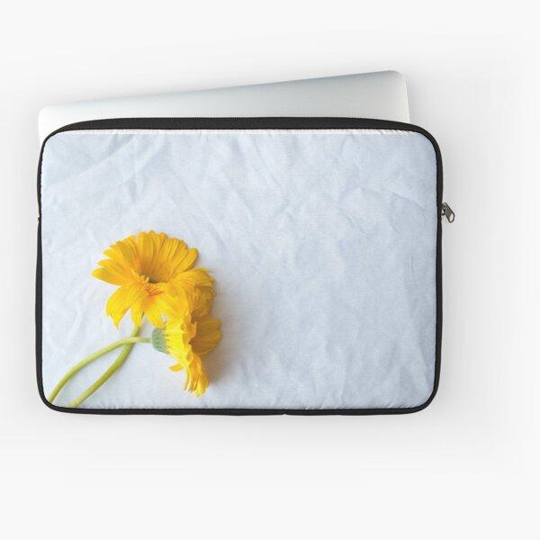 Two yellow gerberas Laptop Sleeve