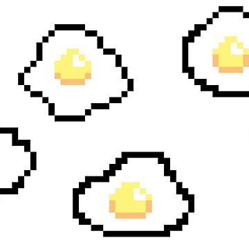 8-bit eggs by auroraflorealis