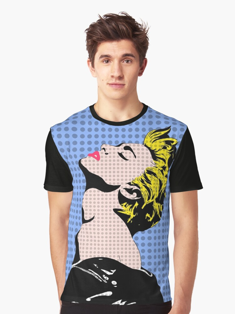 The Queen of Pop Graphic T-Shirt Front