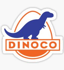 Dinoco (Cars) Sticker