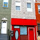 Baltimore City Red Doors by Darlene Bayne