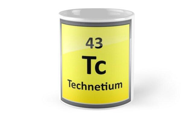 Technetium periodic table element symbol mugs by sciencenotes technetium periodic table element symbol by sciencenotes urtaz Images