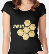 JWST Instrument Team Logo for Dark Colors Women's Fitted Scoop T-Shirt
