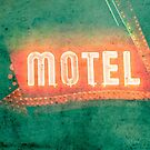 Old Motel by Valerie  Fuqua