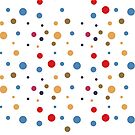 Colored Dots by T-ShirtsGifts